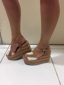 c340979fd Sandalia Plataforma Usada - Sapatos, Usado com o Melhores Preços no Mercado  Livre Brasil