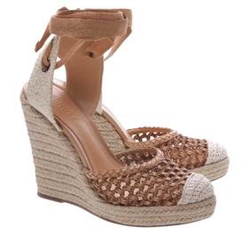 fac385c9ef Sandalia Anabela Marinheiro Feminino Schutz - Sapatos no Mercado ...