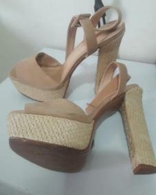 8600542ac Sandalia De Plataforma Sexy 16cm Schutz - Sapatos no Mercado Livre ...