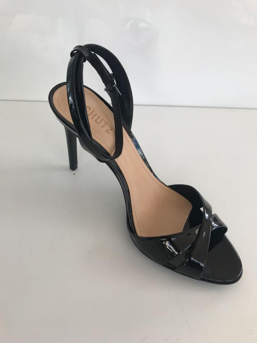 802006e5b Sandália Schutz, Preta - R$ 190,00 em Mercado Livre
