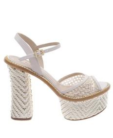 4ca437a64 Sandálias e Chinelos Femininas Sandálias Schutz Branco com o Melhores  Preços no Mercado Livre Brasil