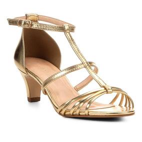 6392cc6e9 Sandalia De Salto Com Pelucia - Sapatos Cinza no Mercado Livre Brasil