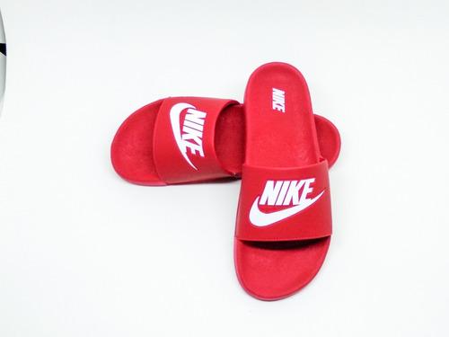 sandalia slide kawa jdi benassi red 2019!!!