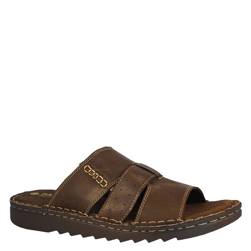 sandalia slip on hombre chocolate fagus 5ss0219 (39 al 44)