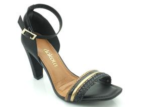 3854c8c18 Sapato Social Feminino Dakota Sandalias Ramarim - Sapatos no Mercado Livre  Brasil