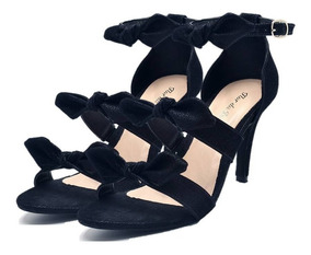 634b1104b3708 Sandália Salto Fino Laço - Sapatos com o Melhores Preços no Mercado Livre  Brasil