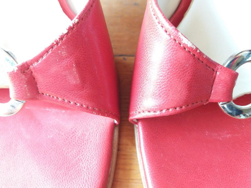 sandalia taco madera r h positivo- 36-v crespo/pompeya