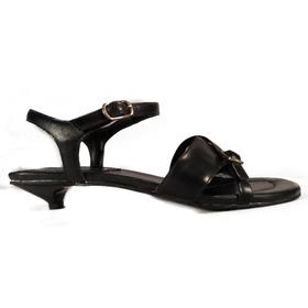 Sandalia Tacochupete Cuero Ladystork Ultimos Pares Shoestore