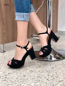 Tacon Grueso Zapatos Mujer Sandalias De En Moda Para Mercado xhQrdCtsBo