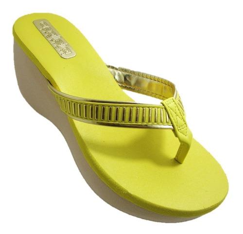 sandália tamanco feminino azaléia lima - a pronta entrega