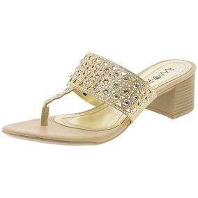 74421d6671 Sandalias Douradas Para Casamento Feminino Ramarim - Sapatos no Mercado  Livre Brasil