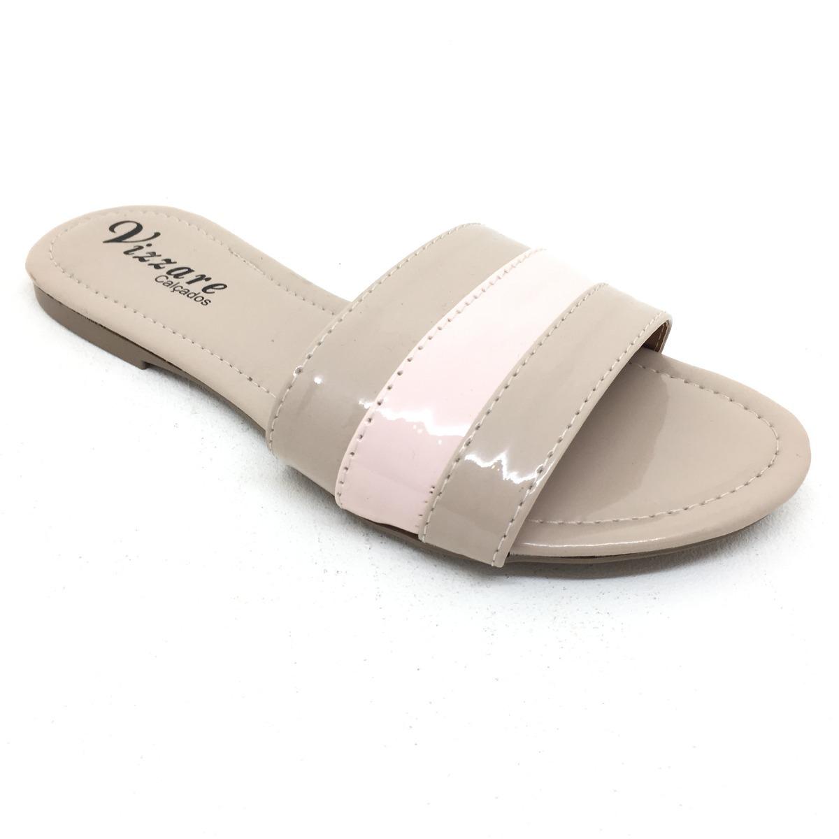 90aa696fbc sandália tipo chinelo rasteirinha tala nude rosê imperdível. Carregando  zoom.
