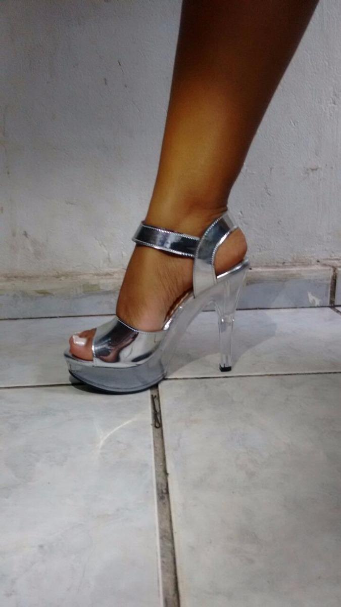 d8c8736ada sandalia transparente acrilico salto alto cristal com feixe. Carregando  zoom.