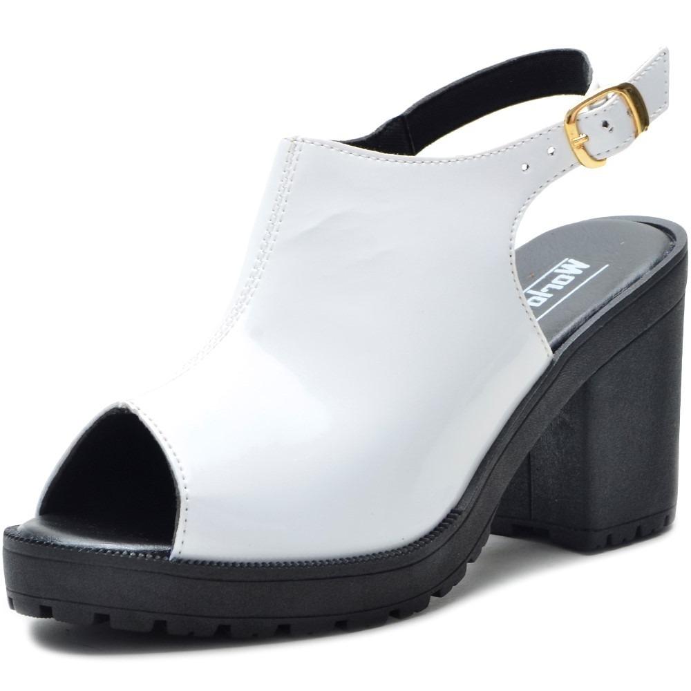 7cd85def04 sandália tratorada feminina salto alto grosso plataforma. Carregando zoom.