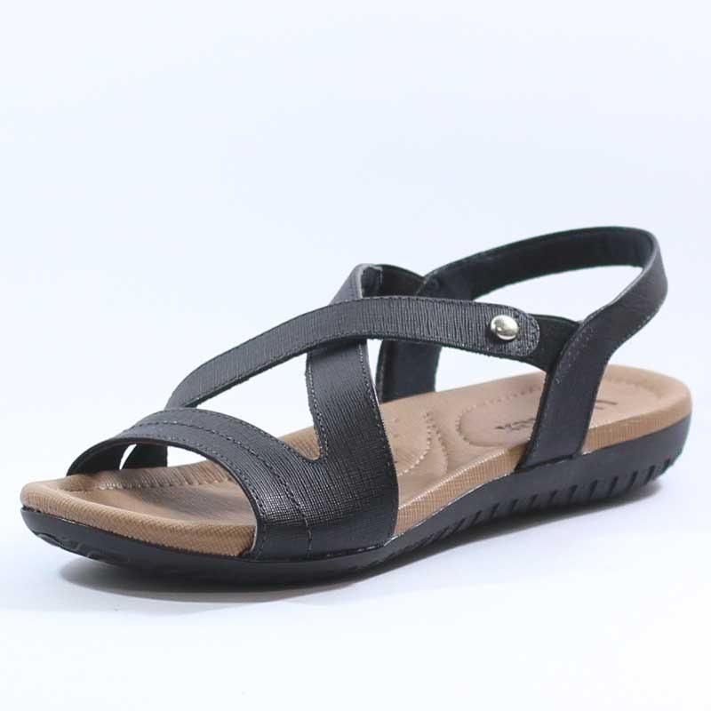 3bec0d86b sandália usaflex conforto anabela anatômica r1804. Carregando zoom.
