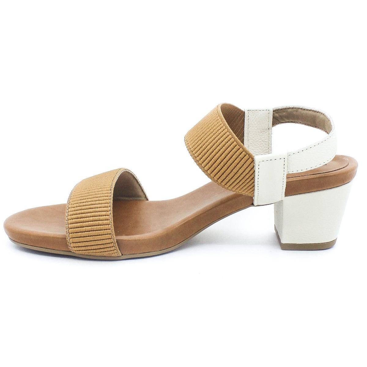 505565db62 sandália usaflex super conforto bege coleção verão 2019. Carregando zoom.