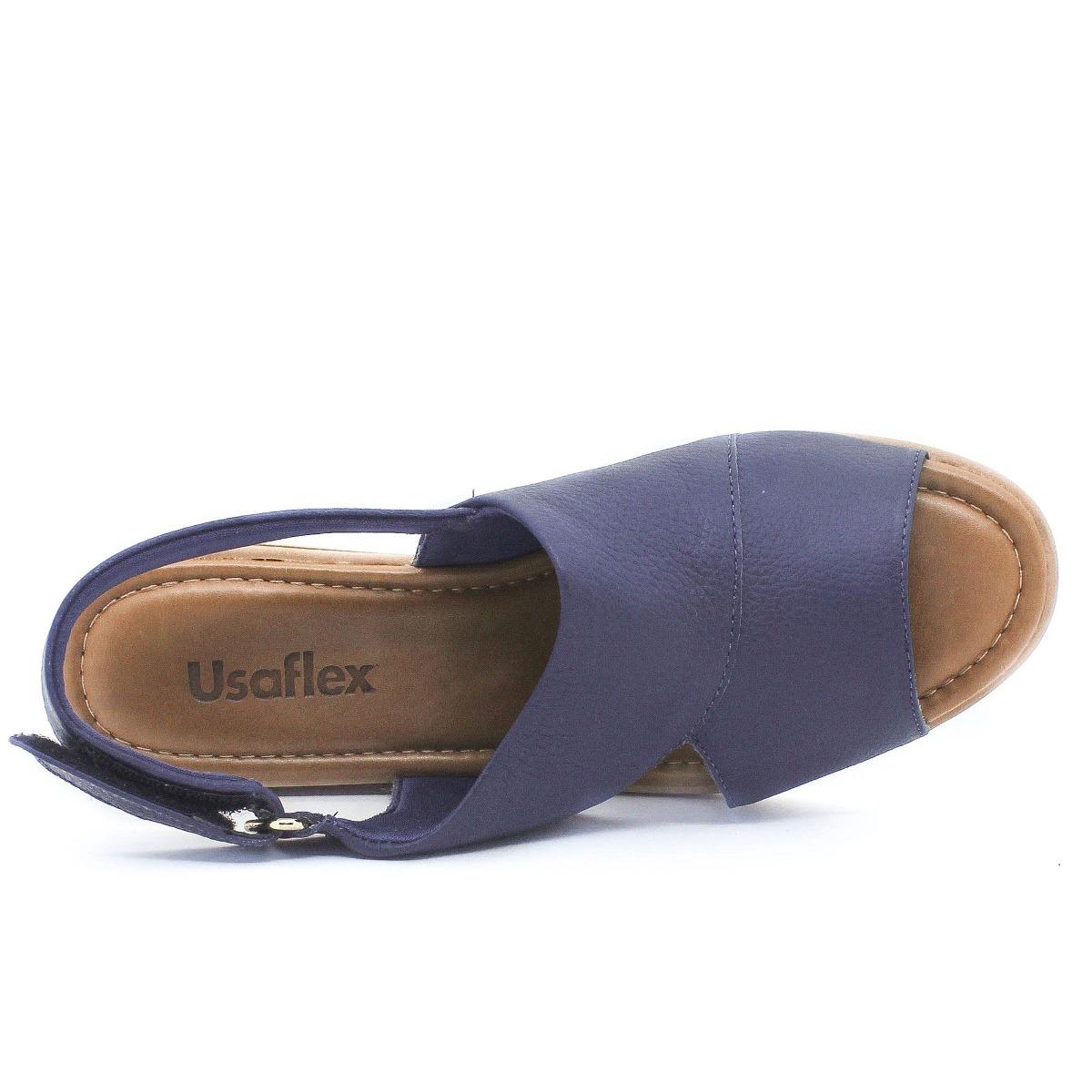 846c122b6a sandália usaflex super conforto marinho coleção verão 2019. Carregando zoom.