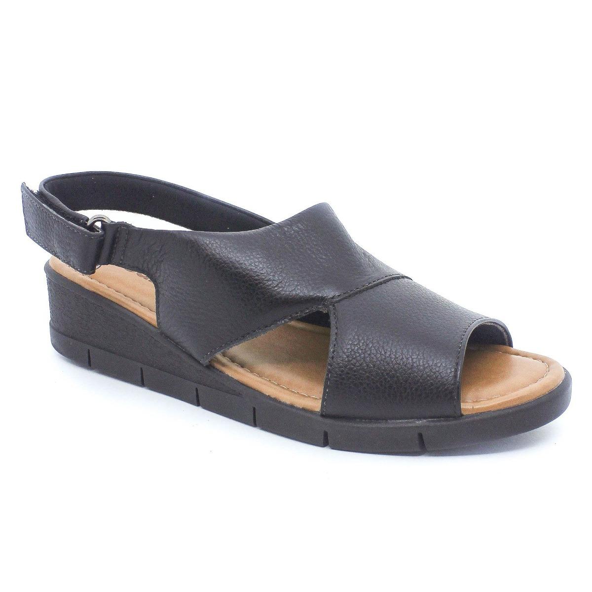 17c4dab717 sandália usaflex super conforto preta coleção verão 2019. Carregando zoom.
