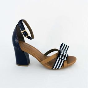 1261d7c9b Sandália Usaflex N39 Azul Marinho! Feminino - Sapatos no Mercado ...