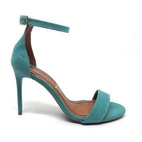c9d6f6aabf Sandalia Salto Verde Agua - Sapatos no Mercado Livre Brasil