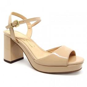 b40395468 Sapato Meia Pata Salto Grosso Baixo - Sapatos com o Melhores Preços no  Mercado Livre Brasil