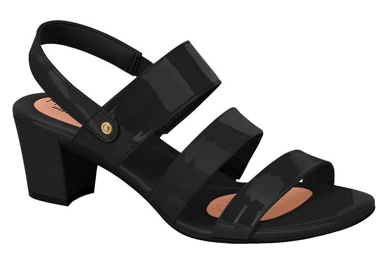 13490f788e sandalia verniz salto quadrado modare conforto 7042211 preto. Carregando  zoom.