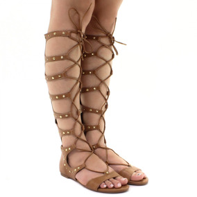 656a19ffe Sandalias Gladiadoras Via Marte Feminino - Calçados, Roupas e Bolsas com o  Melhores Preços no Mercado Livre Brasil