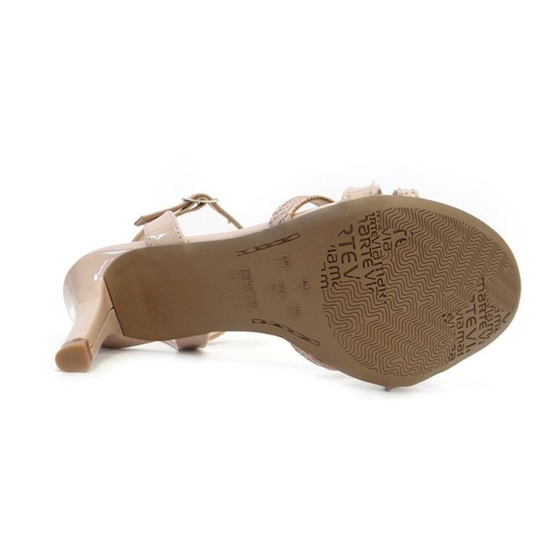 4fb589e461 sandalia social salto fino 17-18306 - via marte 23 - pele pe. Carregando  zoom... sandalia via marte. Carregando zoom.