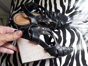 b463844bb Sandalia Anabela Usada, Bom Estado Brechó - Calçados, Roupas e Bolsas,  Usado no Mercado Livre Brasil