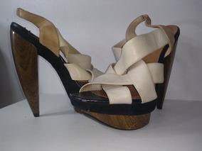 571d58573 Sandalia Via Uno Salto Madeira - Sapatos com o Melhores Preços no ...