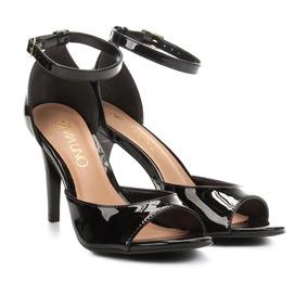 a778955bf Sandalia Via Uno Com Uma Pedra - Sapatos Creme no Mercado Livre Brasil
