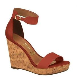 455294e4b Sandalia Vizzano Anabela Vermelha - Sapatos com o Melhores Preços no Mercado  Livre Brasil