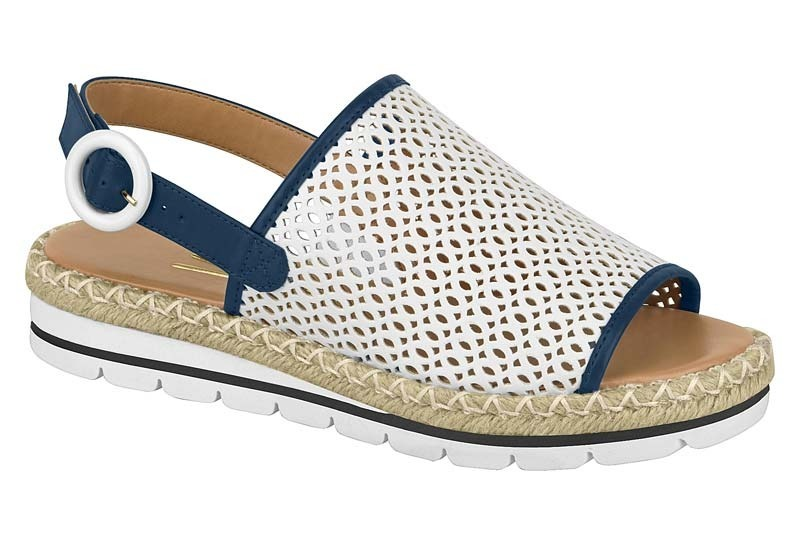 07f6a89c8e sandália vizzano avarca pelica 6388.107 branco- azul marinho. Carregando  zoom.