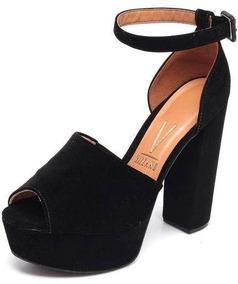 8d23f75ec Sapato Feminino Novo Stravazza Promoção Sandalias Vizzano - Sapatos Preto  em Itaúna com o Melhores Preços no Mercado Livre Brasil