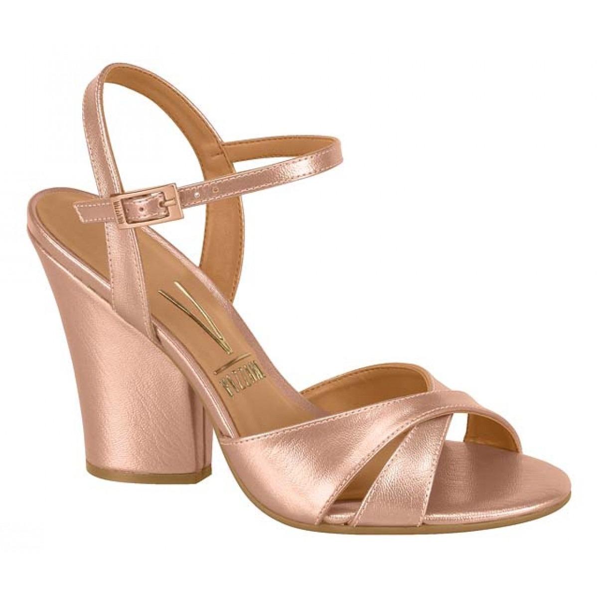 29b7e2232 sandália vizzano feminina de salto grosso rosa- frete grátis. Carregando  zoom.