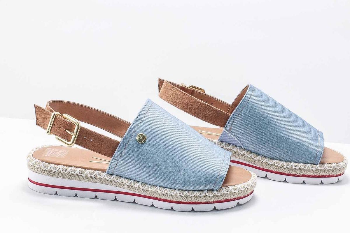 0690ddb1c5 sandália vizzano flatform preta ou jeans 100% original. Carregando zoom.