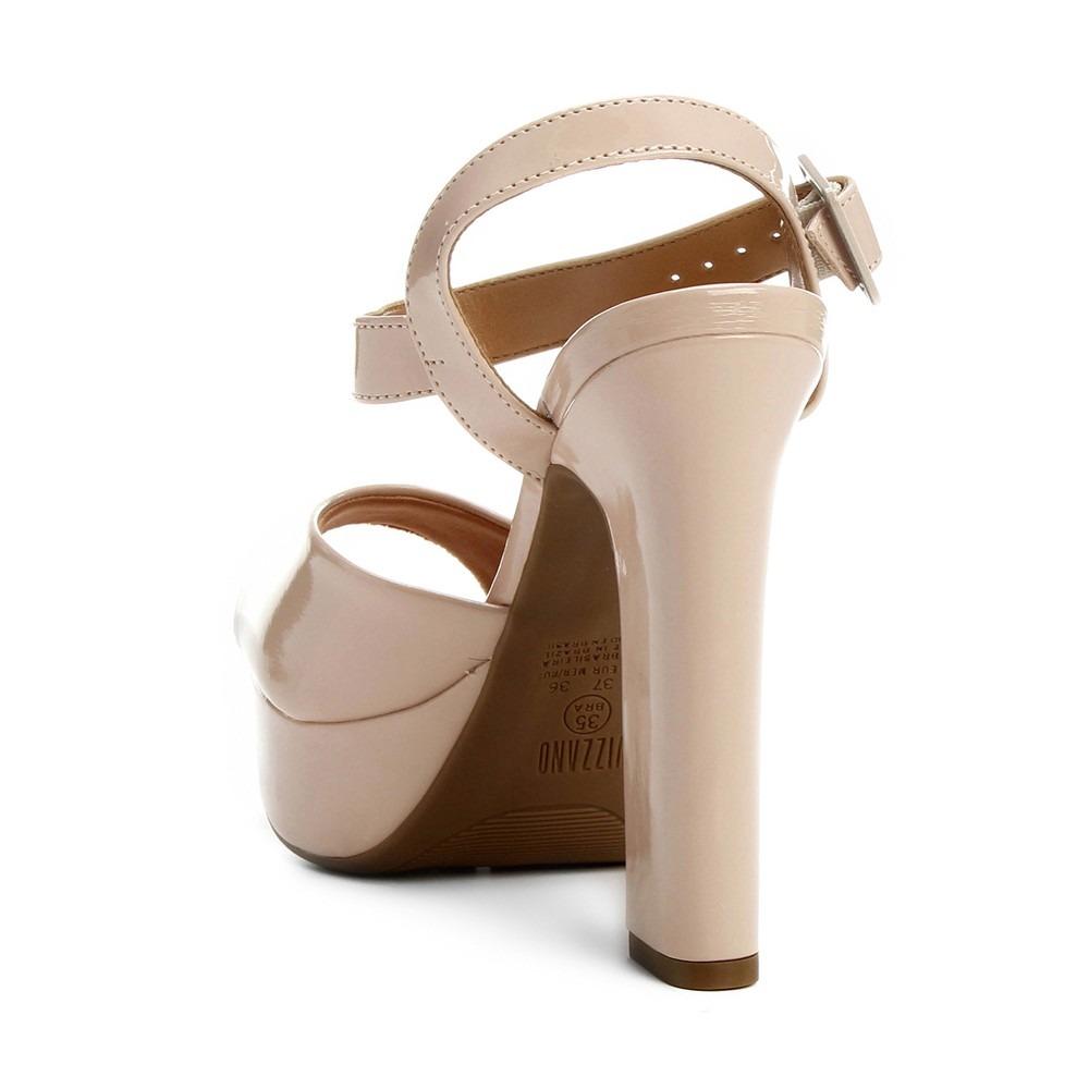 245cbc96bb sandália vizzano meia pata bege para festas formaturas. Carregando zoom.