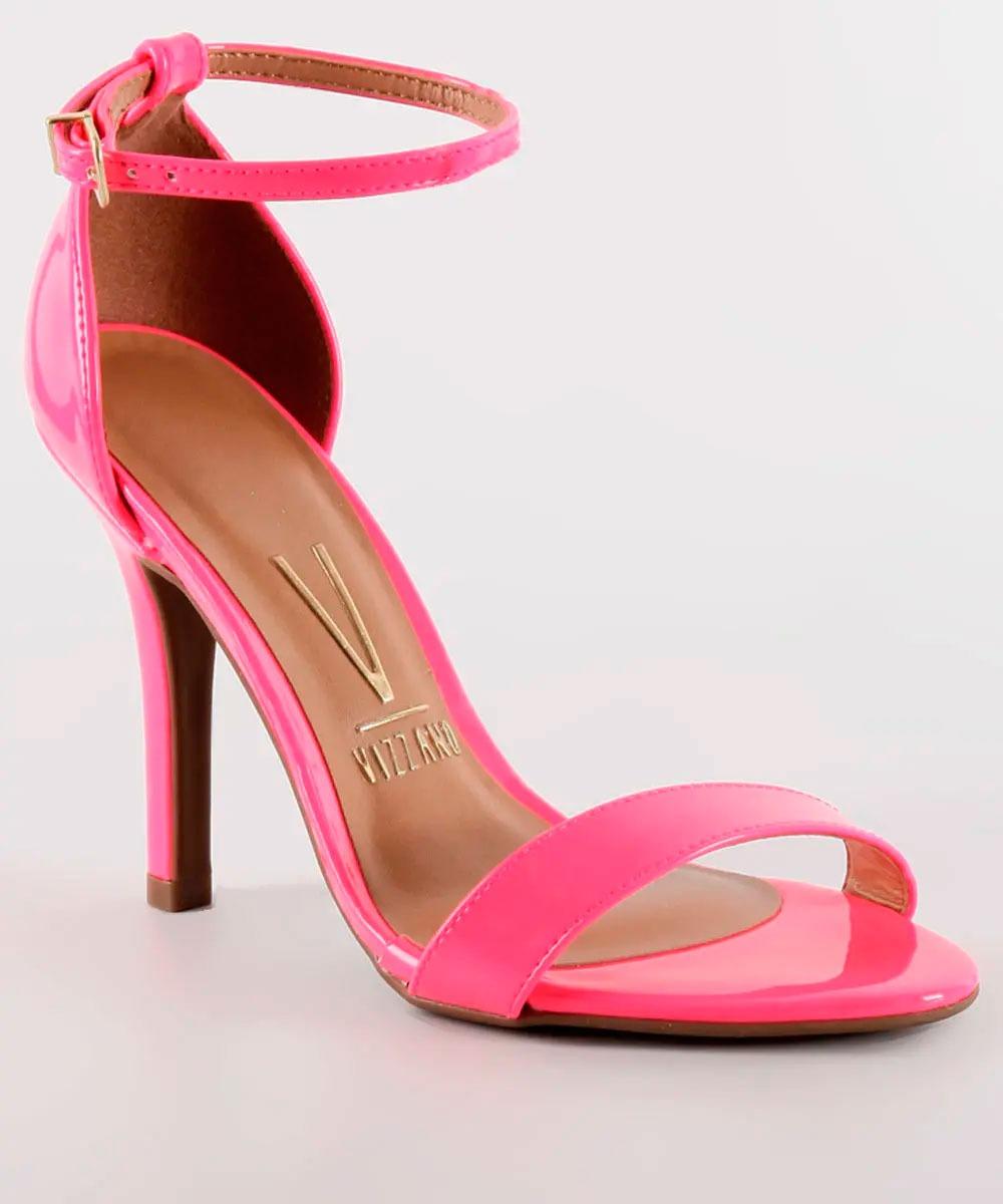 f95a03a244 sandália vizzano neon pink salto alto social. Carregando zoom.
