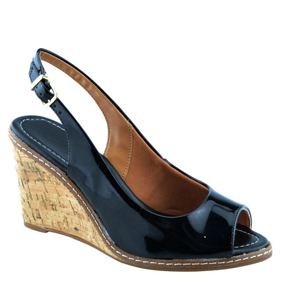 455a5146f9 sandália vizzano salto anabela médio 6354101 original. Carregando zoom.
