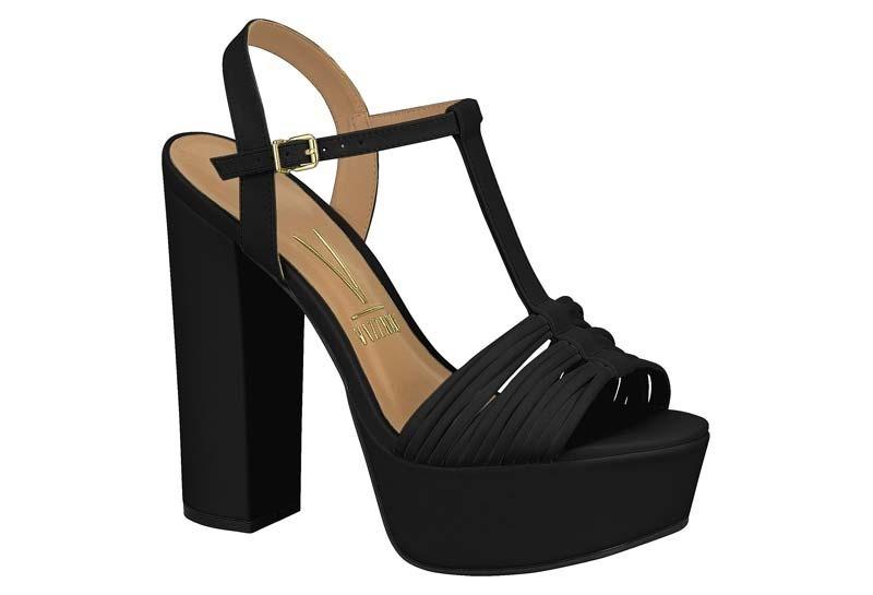 61d4c6053e sandlia vizzano salto grosso meia pata carregando zoom with sandlia vizzano  salto grosso meia