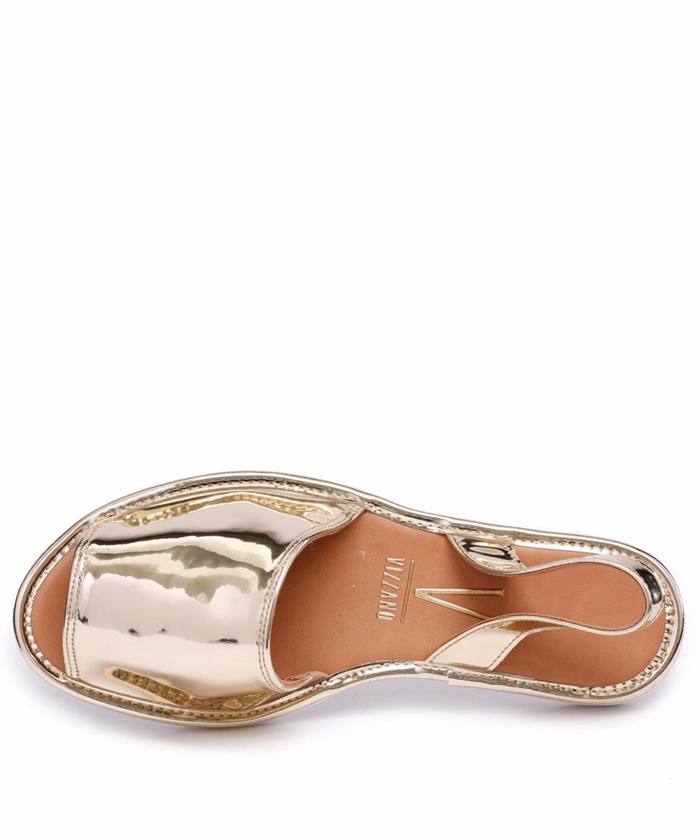 e0ebebe322 Carregando zoom... sapato sandália rasteira feminina avarca vizzano 6280