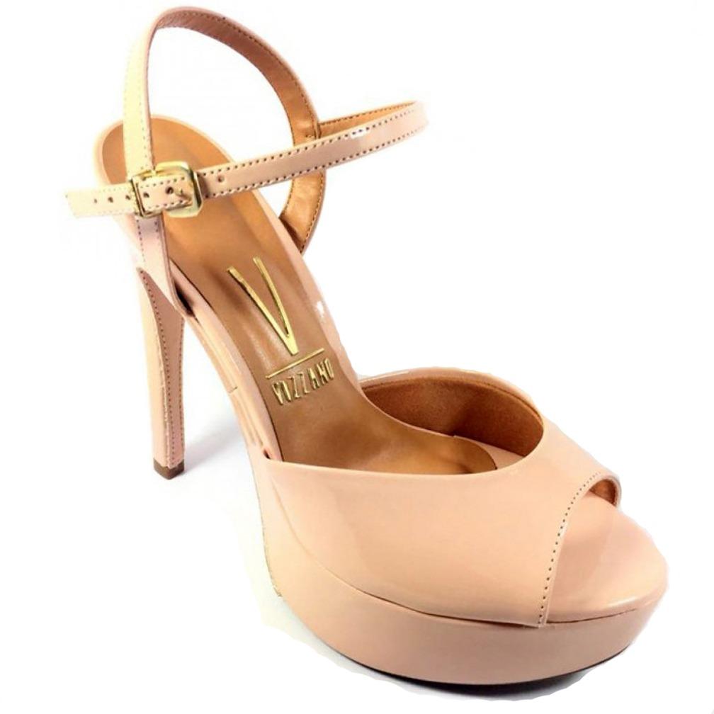 fbe193c20 sandália vizzano verniz cristal brilho feminina - nude. Carregando zoom.