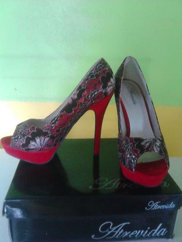 sandalia zapatillas altas damas atrevidas bella nuevas