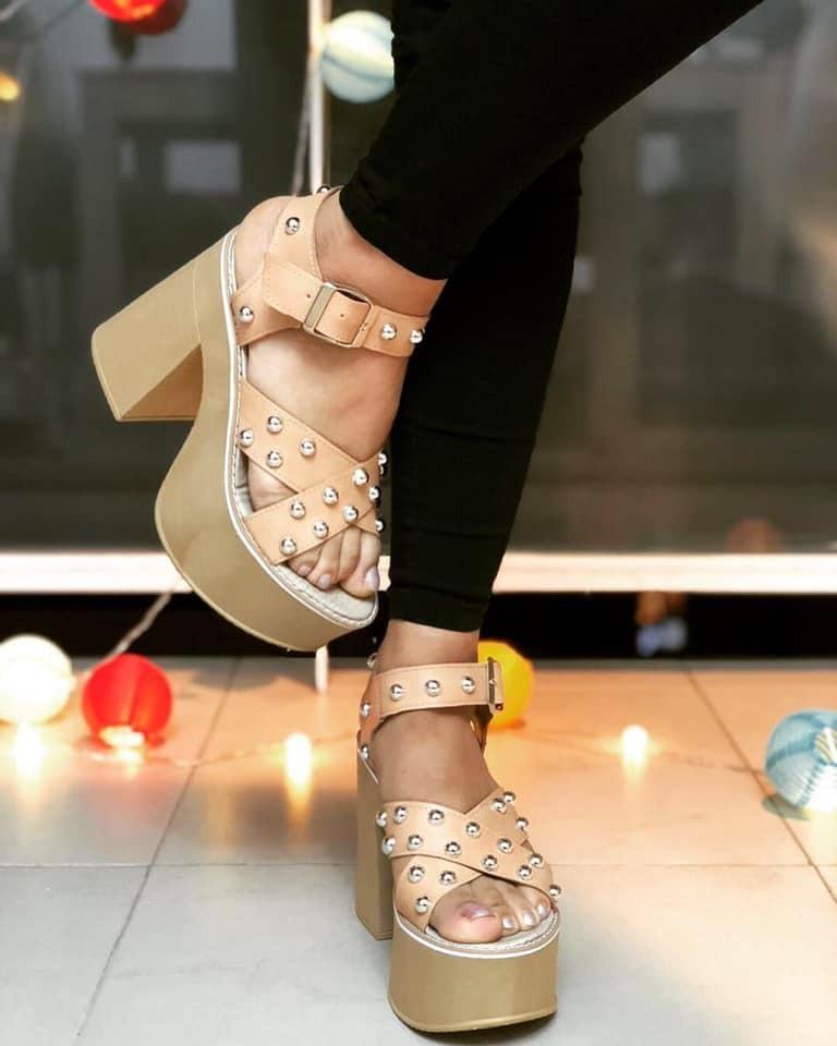 Moda Taco Zapatos Sandalia Ulttima Livianas Mujer Alto 2019 Qrxdceboew R54jLA3q