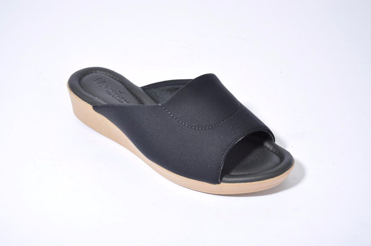 3dc6db019e9 sandalia zueco chinela mujer moda usaflex p5154 importado. Cargando zoom.