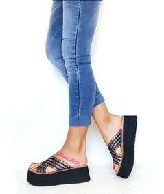 9d881094ee Zapatos Plataforma Yute Cerrados - Ropa y Accesorios en Mercado ...