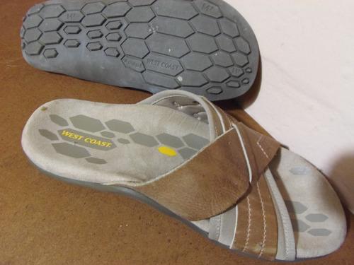 sandalias 2 usos  west cost  impecables permuta tambien