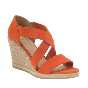 Tacon Zapatos Celia Sin Mujer Msf Sandalias Cruz Naranja En b6gf7Yyv