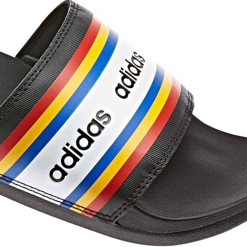 Sandalias Comfort 830903 Hombre Adilette Negro adidas thQCxdsr