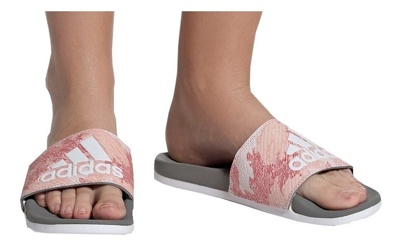 Sandalias adidas Adilette Para Mujer - Super Acolchada